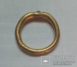 Кольцо АU с камешком