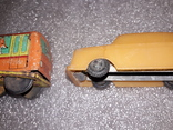 Вагончик заводной и машинка на востановление, фото №4