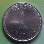 1 крузада 1987 Бразилия   (Ж.1.15)~, фото №4