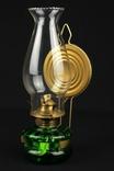 Стеклянная керосиновая лампа. Германия. (0922)