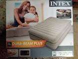 Надувная кровать двухспальная с встроенным насосом Intex 64446 Б\У.