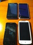 4 смартфона на ремонт