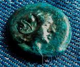 Ольвия, Аполлон лира, надчекан, патина стабилизирована,Лот 3722