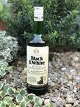 Whisky Black&White 1980s