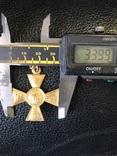 Георгиевский крест 2 ст.золото 900* photo 3