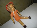 Кукла паричковая, прессопилки 40-50 гг, говорящая.