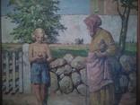 Девочка с яблоком. Германия,1944. Hartig
