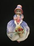 Фигурка Девушка с Цветами Royal Doulton Monica 1931г
