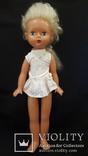 Пластмассовая кукла на резинках 44 см. Клеймо., фото №3