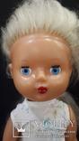 Пластмассовая кукла на резинках 44 см. Клеймо., фото №4
