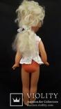 Пластмассовая кукла на резинках 44 см. Клеймо., фото №5