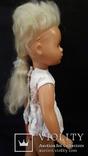 Пластмассовая кукла на резинках 44 см. Клеймо., фото №6