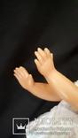 Пластмассовая кукла на резинках 44 см. Клеймо., фото №9