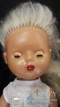 Пластмассовая кукла на резинках 44 см. Клеймо., фото №10