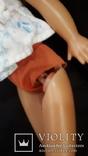 Пластмассовая кукла на резинках 44 см. Клеймо., фото №12