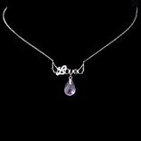 Ожерелье с крупным аметистом, фото №2
