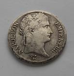 5 франков 1814 г Наполеон I серебро 24.68 г