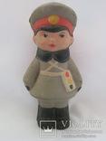 Юный Гаишник, постовой. Резина. СССР
