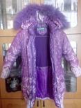 Куртка-пальто на девочку под мелкий ремонт