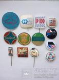 Выставки в Киеве ГДР, ВНР, ПНР, США - 16 шт., фото №3