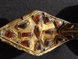 Фибула Готы 5 век.н.е.з камушками. photo 3
