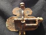 Фибула Готы 5 век.н.е.з камушками. photo 11