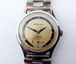 Часы Mora Atlet Sportur. Swiss Made 1960е