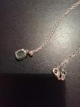 Ожерелье с изумрудом, фото №3
