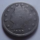 5 центов 1903 США    (Н.22.6)~, фото №3