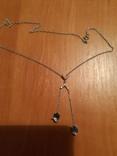 Ожерелье с натуральными сапфирами, фото №2