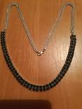 Ожерелье с натуральными сапфирами photo 1