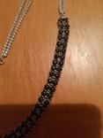 Ожерелье с натуральными сапфирами photo 3