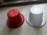 Новогодние шляпы, 2 шт.