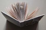 Блокнот ручной работы с нелинованными состаренными страницами -Осенний уют- 115 листов, фото №9