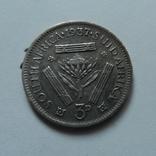3 пенса 1937 Африка    (Н.23.6)~, фото №2