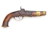 Дульнозарядный пистоль, 18-19й век, Европа