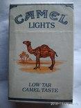 Сигарети із СРСР Camel lights оригінал