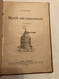 1921 Изготовление Вина Львов Польская книга