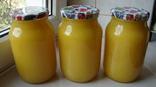 Мед з домашньої пасіки (з соняшника 3 л.,чиста вага меду 4.2кг.)