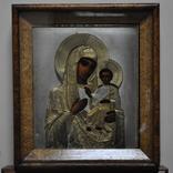 Икона Божией Матери,оклад серебро 84 пр. photo 3