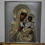 Икона Божией Матери,оклад серебро 84 пр. photo 11