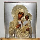 Икона Божией Матери,оклад серебро 84 пр. photo 12