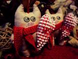 """Авторська іграшка """"Закоханий котик"""""""