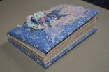 Блокнот ручной работы с нелинованными состаренными страницами -Цветочный- 100 листов, фото №5
