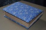Блокнот ручной работы с нелинованными состаренными страницами -Цветочный- 100 листов, фото №8
