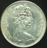 Канада 5 центов 1967 Заяц aUnc photo 2