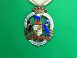 Награда масонов STEWARD. Серебро. RMIG 1924 г.