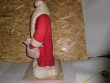 Дедушка мороз - возраст 48 лет, из СССР, 72 см.,прессопилки, на реставрацию, фото №6