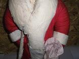 Дедушка мороз - возраст 48 лет, из СССР, 72 см.,прессопилки, на реставрацию, фото №9