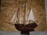 Модель парусника 66 см х 66 см, фото №2